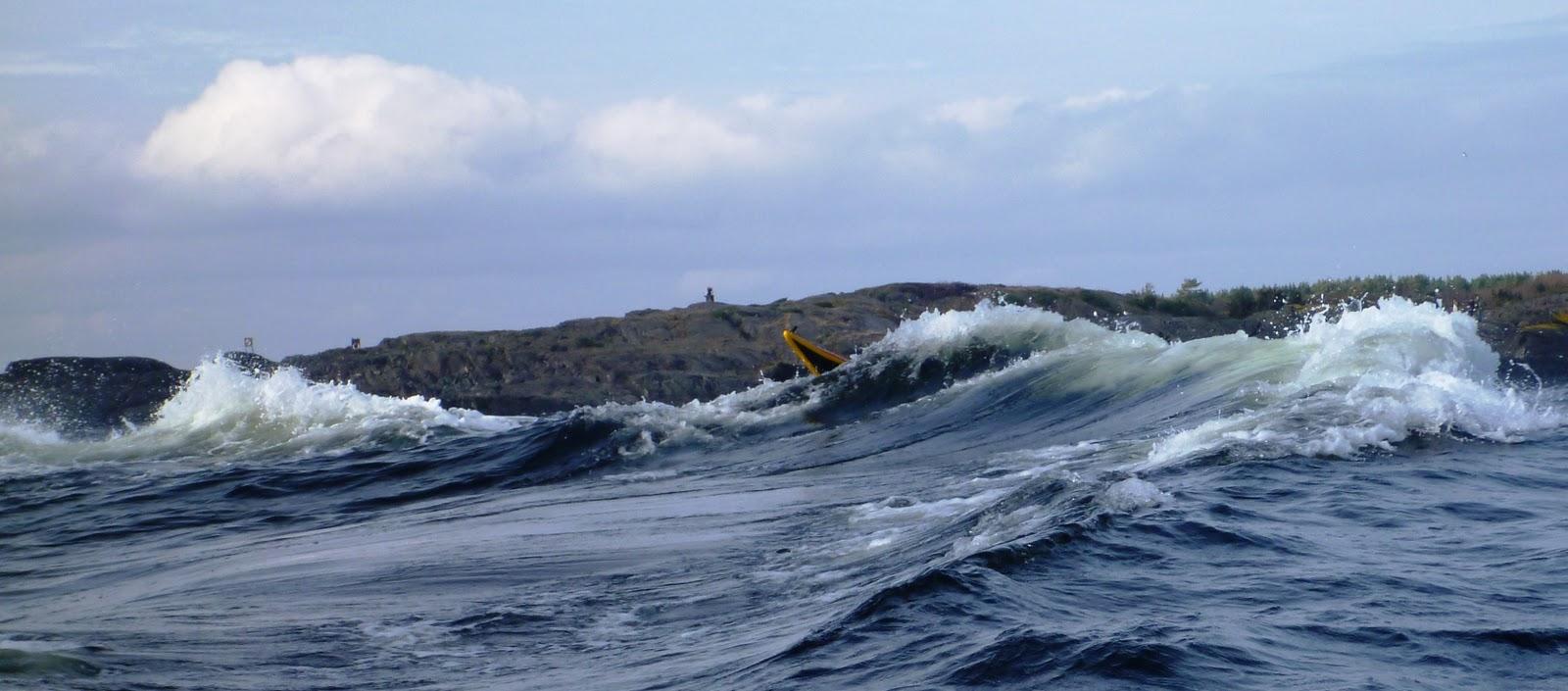 Stavern-bølger og vind
