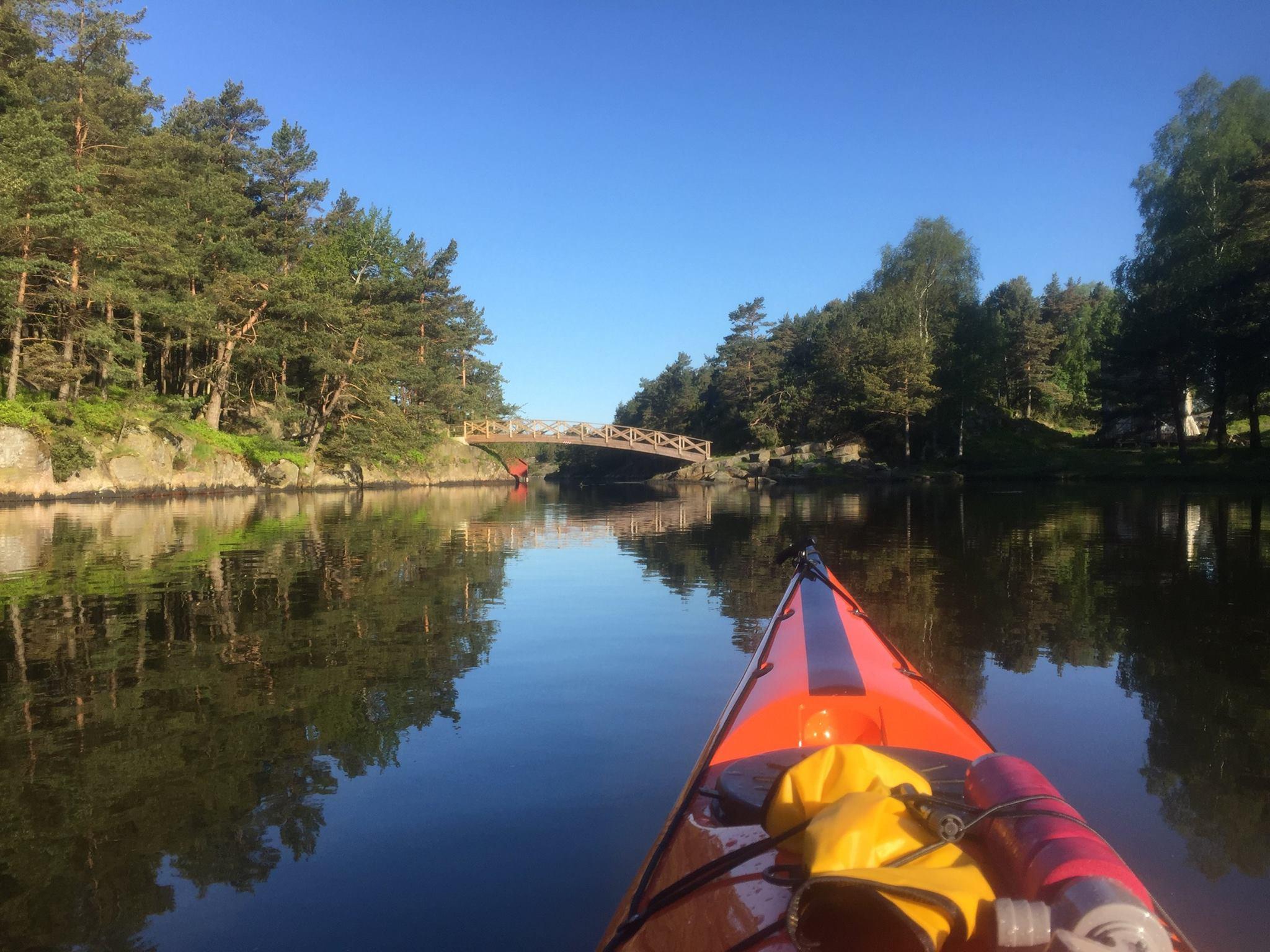 Bragdøya – padleperle «midt i byen»