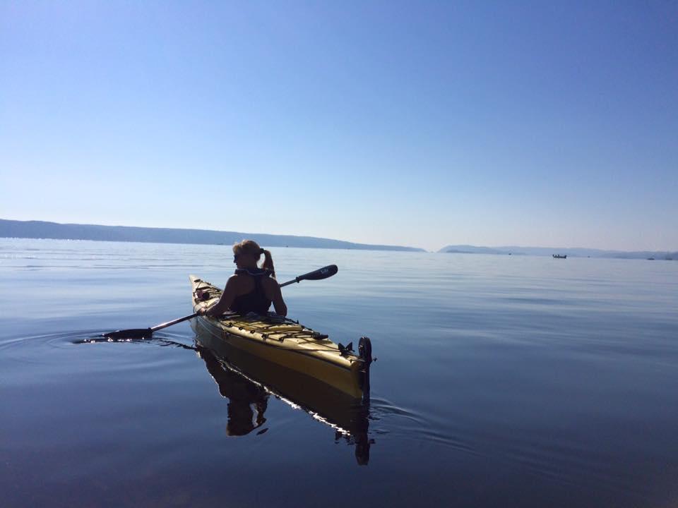 Brønnøya – når hverdagsstress legges igjen på kaia